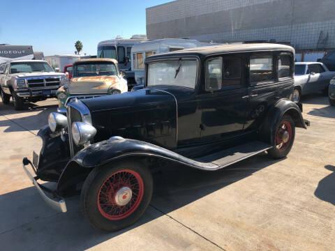 1932 Pontiac Sedan 4 Door for sale at HIGH-LINE MOTOR SPORTS in Brea CA