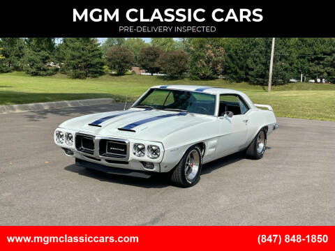 1969 Pontiac Trans Am for sale at MGM CLASSIC CARS-New Arrivals in Addison IL