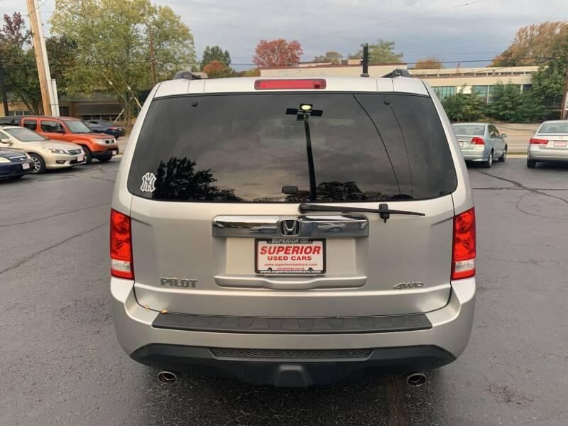 2012 Honda Pilot 4x4 EX 4dr SUV - Cuyahoga Falls OH