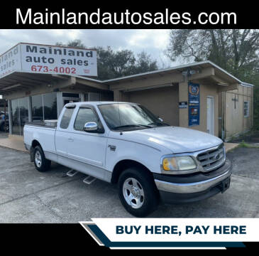 2002 Ford F-150 for sale at Mainland Auto Sales Inc in Daytona Beach FL