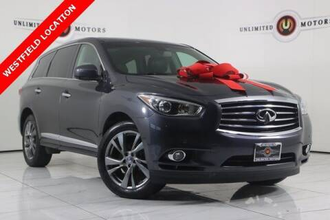 2013 Infiniti JX35 for sale at INDY'S UNLIMITED MOTORS - UNLIMITED MOTORS in Westfield IN