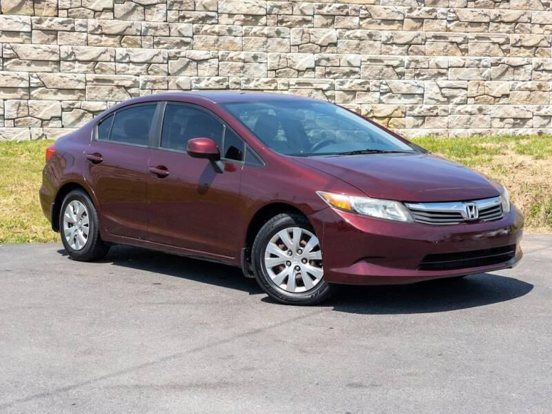 2012 Honda Civic for sale at Car Hunters LLC in Mount Juliet TN