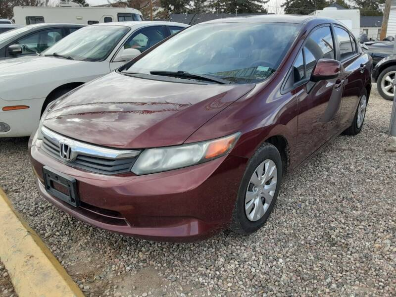 2012 Honda Civic for sale at DK Super Cars in Cheyenne WY