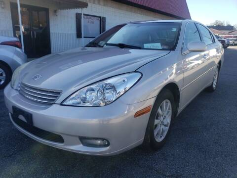 2003 Lexus ES 300 for sale at Salem Auto Sales in Salem VA