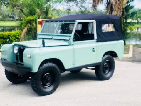 1965 Land Rover 88 Series 2 for sale at AUTOSPORT in Wellington FL