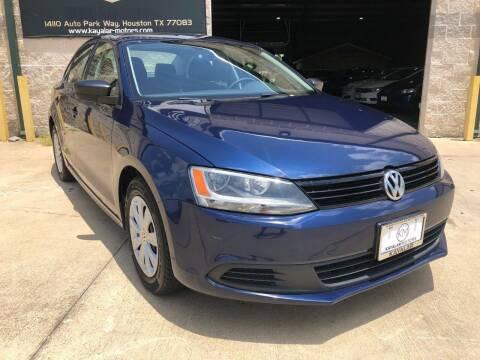 2013 Volkswagen Jetta for sale at KAYALAR MOTORS - ECUFAST HOUSTON in Houston TX