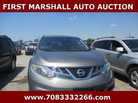 2011 Nissan Murano for sale at First Marshall Auto Auction in Harvey IL