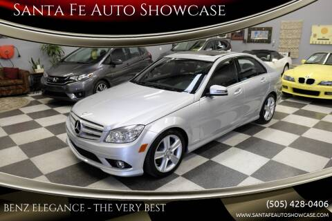 2010 Mercedes-Benz C-Class for sale at Santa Fe Auto Showcase in Santa Fe NM