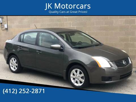 2007 Nissan Sentra for sale at JK Motor Cars in Pittsburgh PA