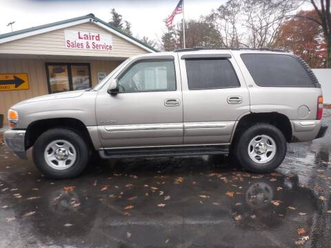 2000 GMC Yukon for sale at LAIRD SALES AND SERVICE in Muskegon MI