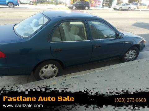 1998 Toyota Corolla for sale at Fastlane Auto Sale in Los Angeles CA