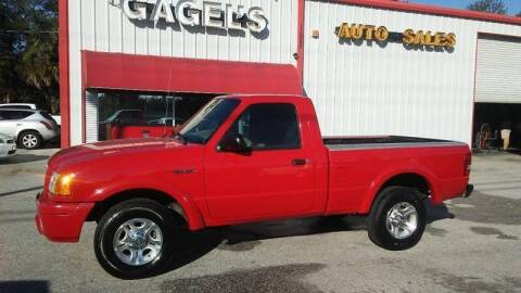 2004 Ford Ranger for sale at Gagel's Auto Sales in Gibsonton FL