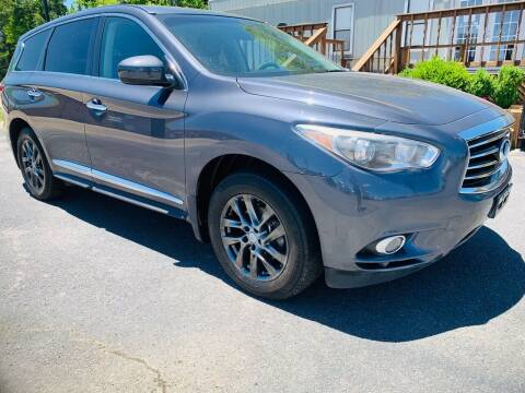 2013 Infiniti JX35 for sale at BRYANT AUTO SALES in Bryant AR