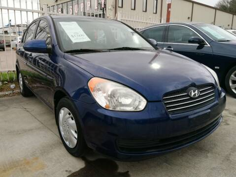 2008 Hyundai Accent for sale at TEXAS MOTOR CARS in Houston TX