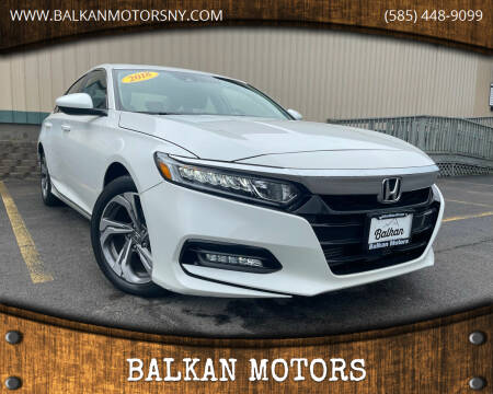 2018 Honda Accord for sale at BALKAN MOTORS in East Rochester NY