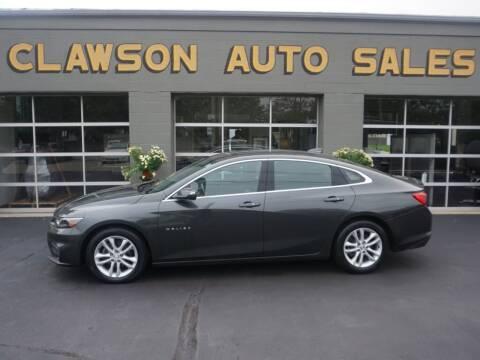 2016 Chevrolet Malibu for sale at Clawson Auto Sales in Clawson MI
