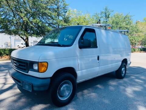 2006 Ford E-Series Cargo for sale at Asap Motors Inc in Fort Walton Beach FL