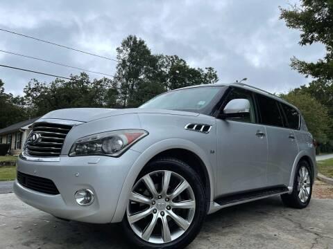 2014 Infiniti QX80 for sale at Cobb Luxury Cars in Marietta GA