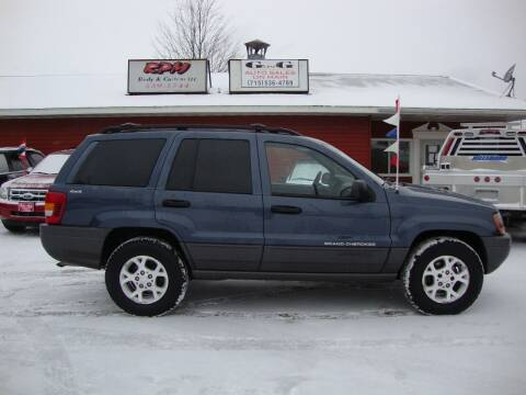 2001 Jeep Grand Cherokee for sale at G and G AUTO SALES in Merrill WI