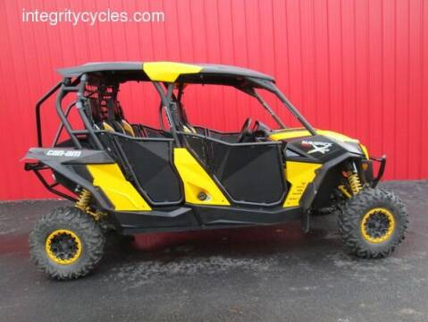 2015 Can-Am MAVERICK MAX 1000R X RS for sale at INTEGRITY CYCLES LLC in Columbus OH