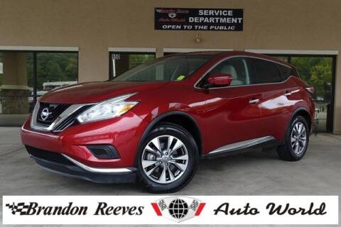2016 Nissan Murano for sale at Brandon Reeves Auto World in Monroe NC