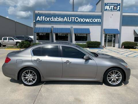 2008 Infiniti G35 for sale at Affordable Autos in Houma LA