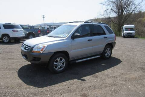 2008 Kia Sportage for sale at Clearwater Motor Car in Jamestown NY