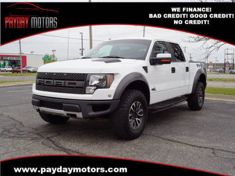 2012 Ford F-150 for sale at Payday Motors in Wichita And Topeka KS