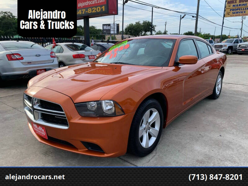 2011 Dodge Charger for sale at Alejandro Cars & Trucks Inc in Houston TX
