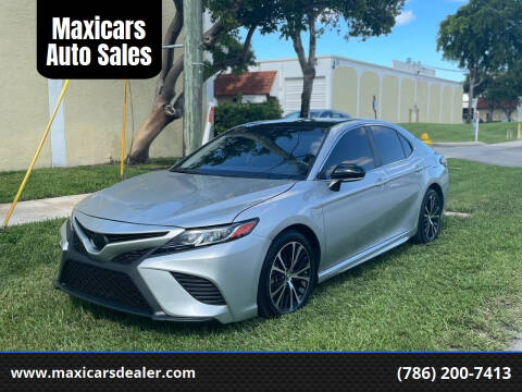 2018 Toyota Camry for sale at Maxicars Auto Sales in West Park FL
