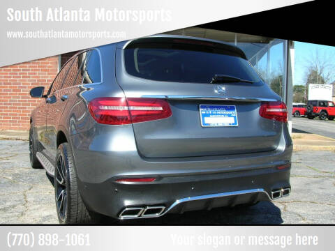 2018 Mercedes-Benz GLC for sale at South Atlanta Motorsports in Mcdonough GA