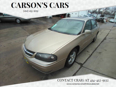 2004 Chevrolet Impala for sale at Carson's Cars in Milwaukee WI