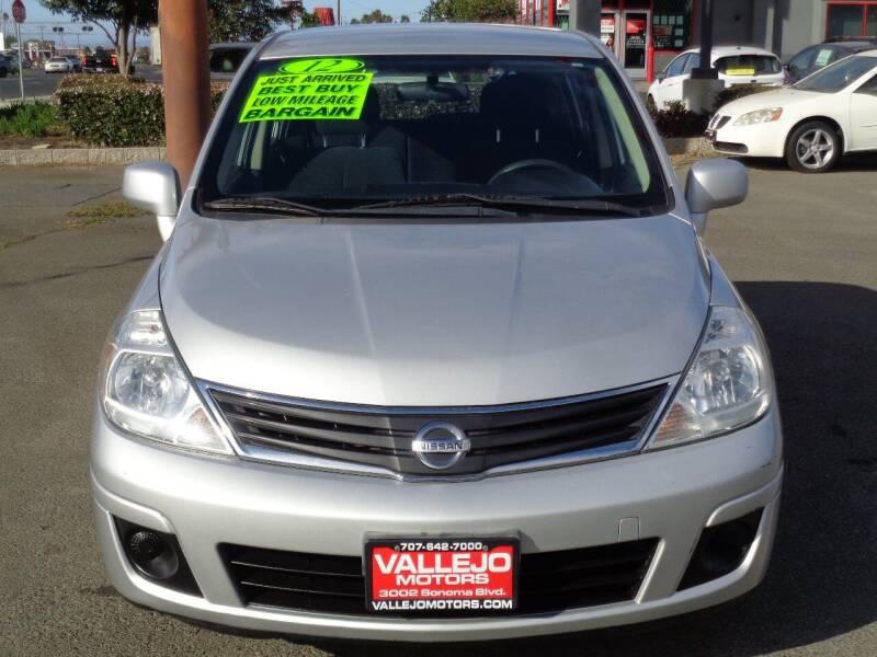 2012 Nissan Versa for sale at Vallejo Motors in Vallejo CA