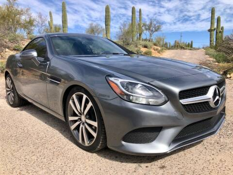 2017 Mercedes-Benz SLC for sale at Auto Executives in Tucson AZ