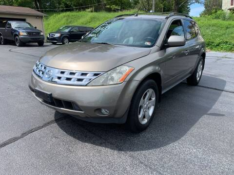2004 Nissan Murano for sale at KP'S Cars in Staunton VA