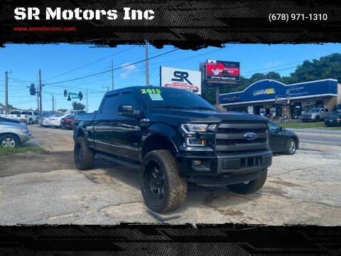 2015 Ford F-150 for sale at SR Motors Inc in Gainesville GA