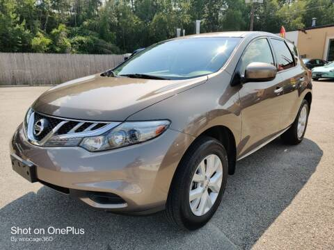 2011 Nissan Murano for sale at Porcelli Auto Sales in West Warwick RI