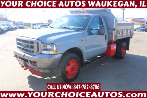2003 Ford F-550 Super Duty for sale at Your Choice Autos - Waukegan in Waukegan IL