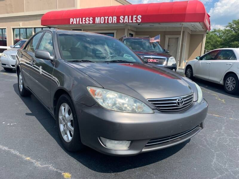 2005 Toyota Camry for sale at Payless Motor Sales LLC in Burlington NC