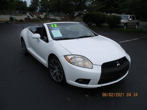 2012 Mitsubishi Eclipse Spyder for sale at Euro Asian Cars in Knoxville TN