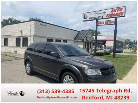 2014 Dodge Journey for sale at The Family Auto Finance in Redford MI
