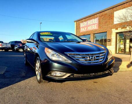 2013 Hyundai Sonata for sale at AUTO BARGAIN, INC. #2 in Oklahoma City OK