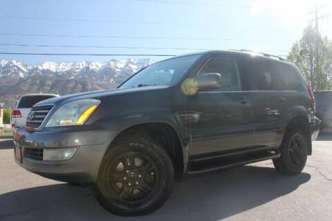 2007 Lexus GX 470 for sale at REVOLUTIONARY AUTO in Lindon UT