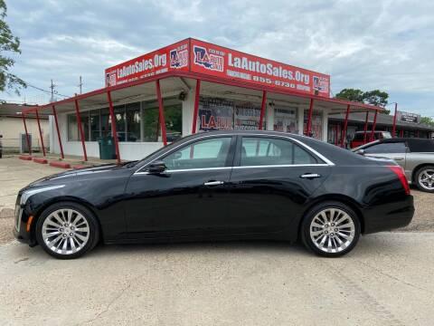 2014 Cadillac CTS for sale at LA Auto Sales in Monroe LA