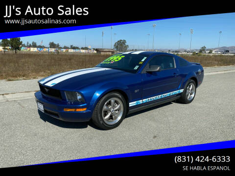 2008 Ford Mustang for sale at JJ's Auto Sales in Salinas CA