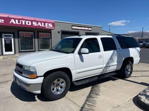 2004 Chevrolet Suburban for sale at Auto Image Auto Sales in Pocatello ID