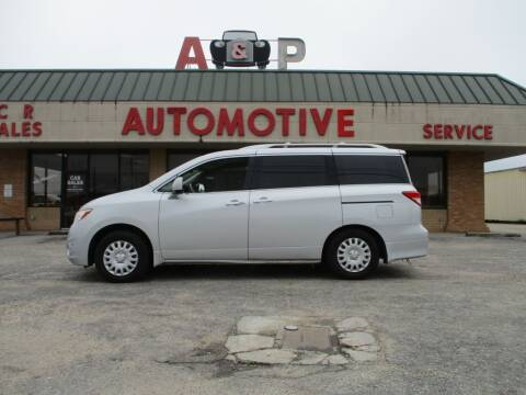 2012 Nissan Quest for sale at A & P Automotive in Montgomery AL