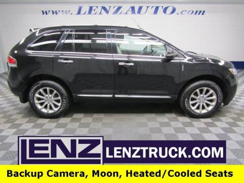 2013 Lincoln MKX for sale at LENZ TRUCK CENTER in Fond Du Lac WI