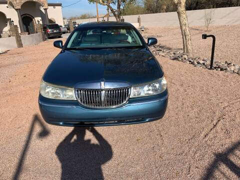 2002 Lincoln Town Car for sale at AZ Classic Rides in Scottsdale AZ