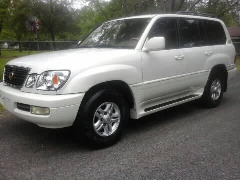 2000 Lexus LX 470 for sale at John 3:16 Motors in San Antonio TX